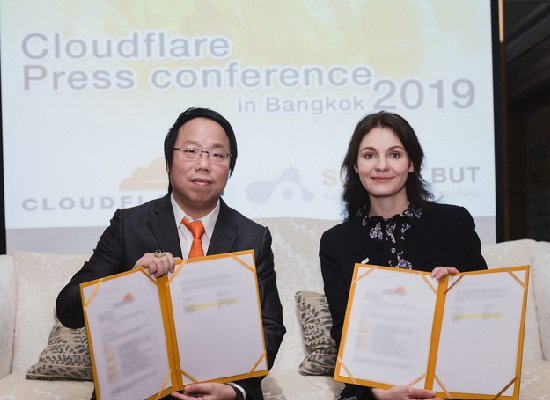 Article Cloudflare Press conference in Bangkok 2019 by Softdebut
