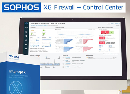Article Sophos XG Firewall – Control Center