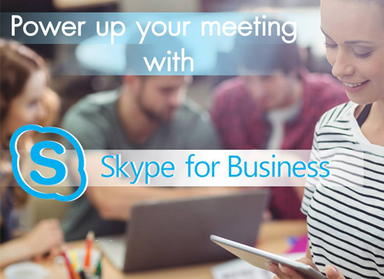 Article Power up your meeting with Skype for Business