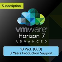 VMware Horizon 7 Advanced: 10 Pack (CCU) (3 Years Production Support)
