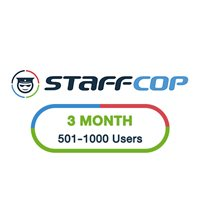 StaffCop 3 Month 501-1000 Users