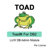 Toad for DB2 LUW DB Admin Module
