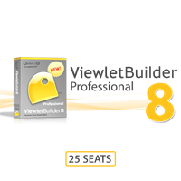 ViewletBuilder Professional 25 Seats