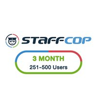 StaffCop 3 Month 251-500 Users