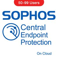 Sophos Central Endpoint Protection (On Cloud) 50-99 Users