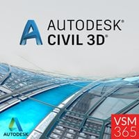Civil 3D 2020 - Annual Subscription