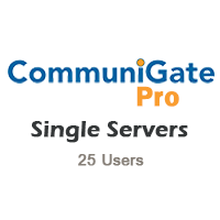 CommuniGate Pro - Single Servers 25 users