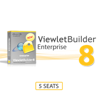 ViewletBuilder8 Enterprise 5 Seats