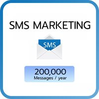 SMS Marketing : 200,000 SMS/year