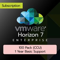VMware Horizon 7 Enterprise: 100 Pack (CCU) (1 Year Basic Support)