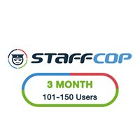 StaffCop 3 Month 101-150 Users