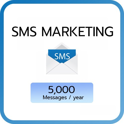 SMS Marketing : 5,000 SMS / year