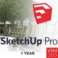 SketchUp Pro 2019 - Single User 1 Year