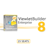 ViewletBuilder8 Enterprise 25 Seats