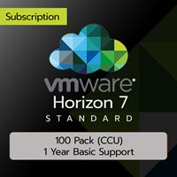 VMware Horizon 7 Standard: 100 Pack (CCU) (1 Year Basic Support)