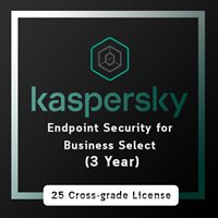 Kaspersky Endpoint Security for Business Select (3 Year)/ 25 Cross Grade License
