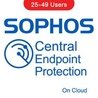 Sophos Central Endpoint Protection (On Cloud) 25-49 Users