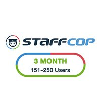 StaffCop 3 Month 151-250 Users